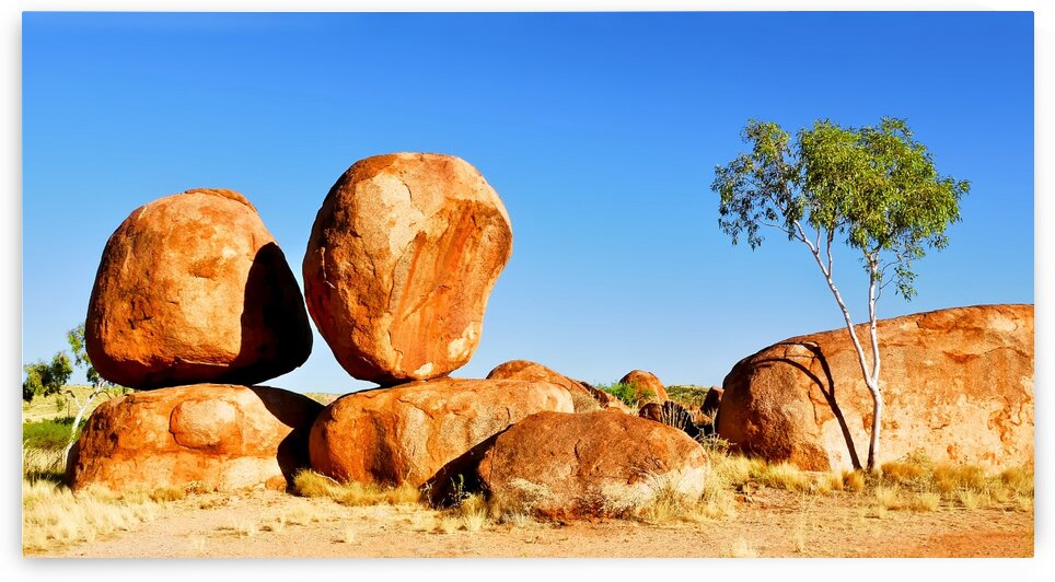 Balancing Act - Devils Marbles by Lexa Harpell
