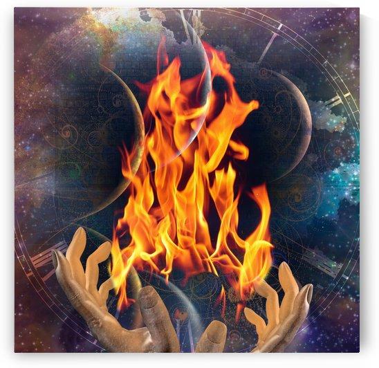 Fire Keeper by Bruce Rolff