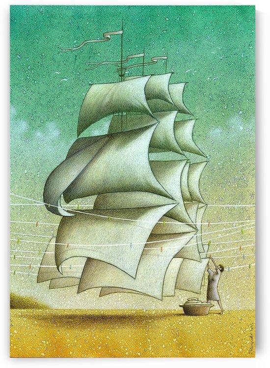 Boat by Pawel Kuczynski