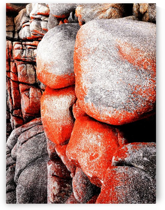 Australia Rocks - Abstract 41 by Lexa Harpell