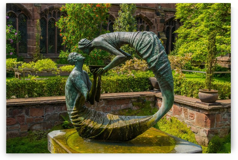 Water of Life Statue by Bunnoffee Photography