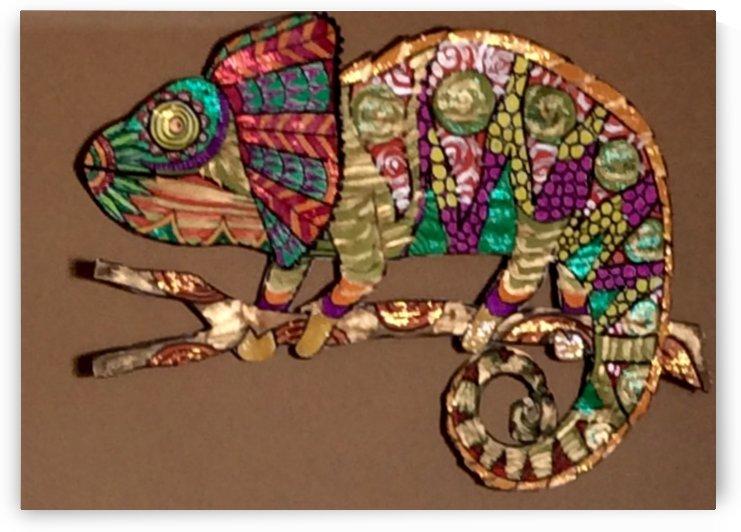 Chameleon  by Zaramar Paintings