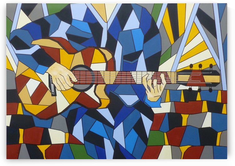 GUITARISTE by GALERIEAMB41