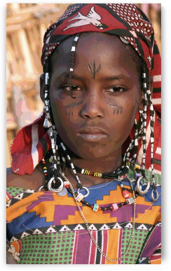 Jeune femme peule  by girouArd