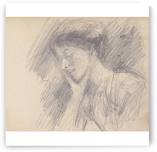 Lady dozing by John Butler Yeats