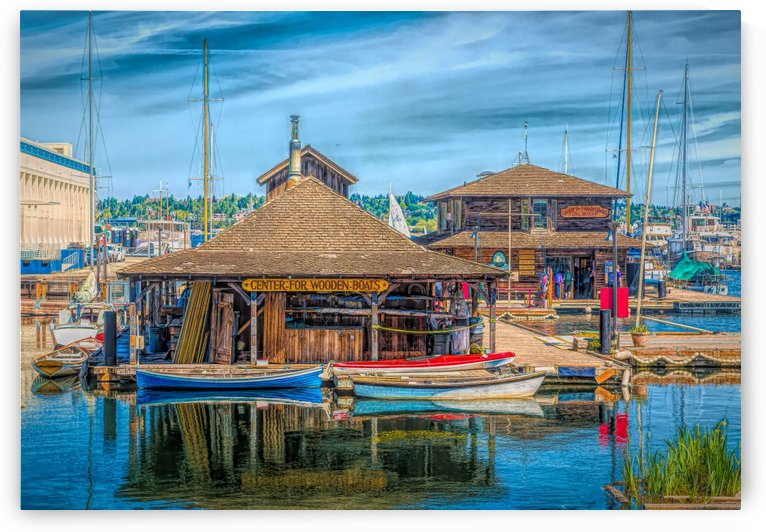 Center for Wooden Boats by Darryl Brooks