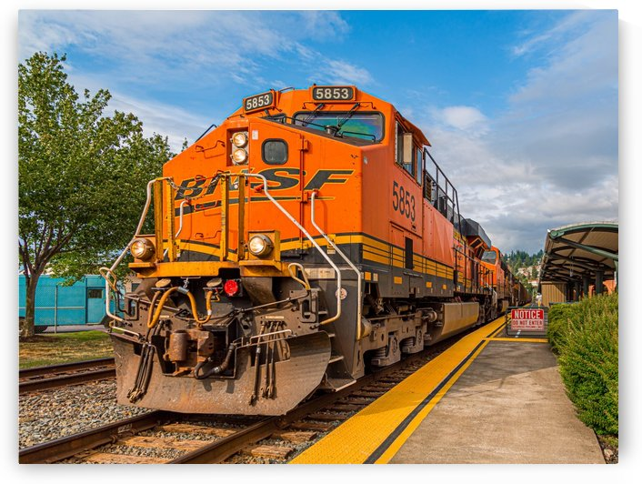 BNSF Locomotive by Darryl Brooks
