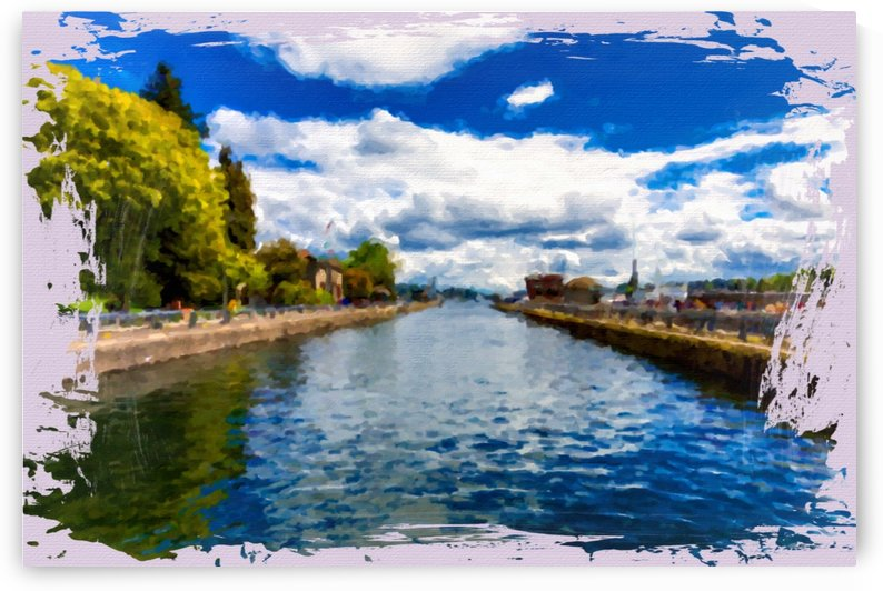 Ballard Locks into Distance Horizontal by Darryl Brooks