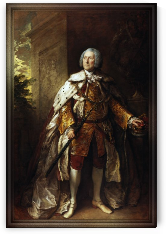 John Campbell 4th Duke of Argyll by Thomas Gainsborough by xzendor7