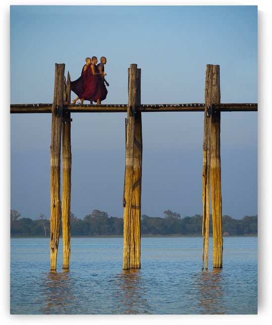 U-bein bridge Myanmar by Radu Juster Photography