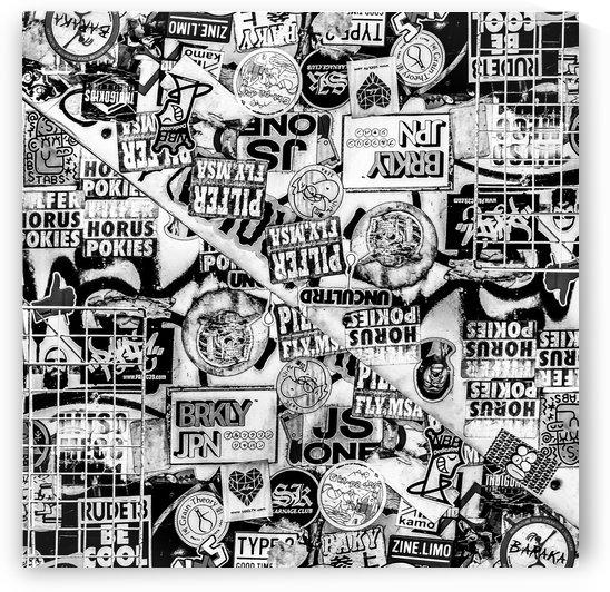 Urban Collage Print 2 by Daniel Ferreia Leites Ciccarino