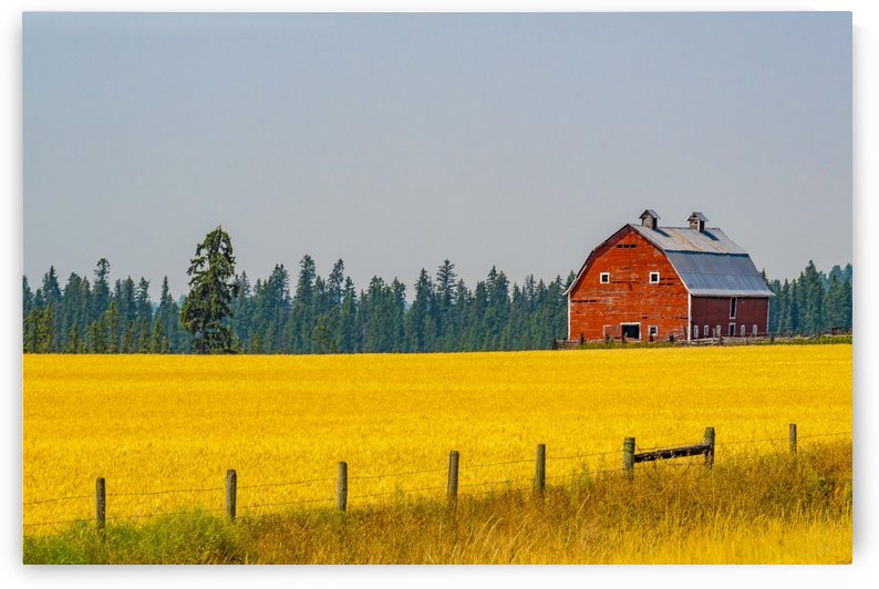 Flathead Barn by Scene Again Images: Photography by Cliff Davis