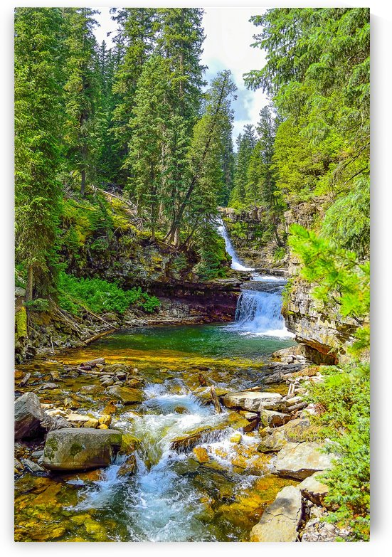 Ousel Falls by Scene Again Images: Photography by Cliff Davis