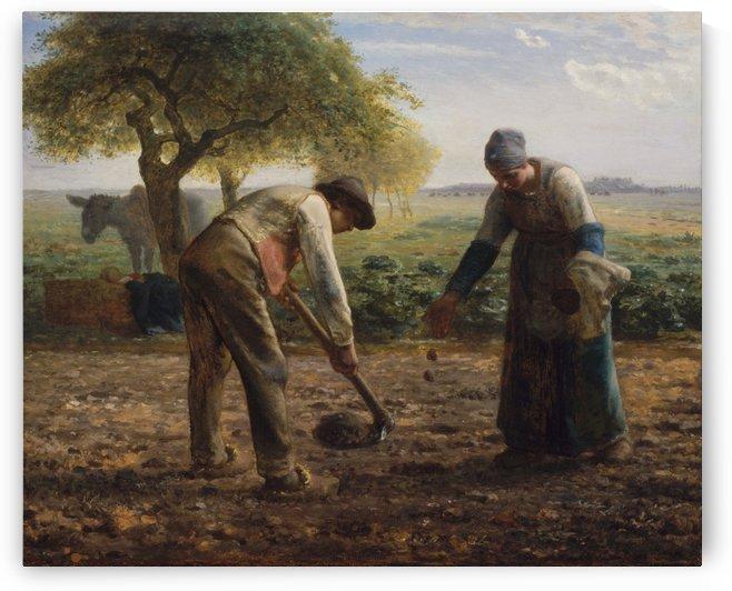 Potato Planters by Jean-Francois Millet