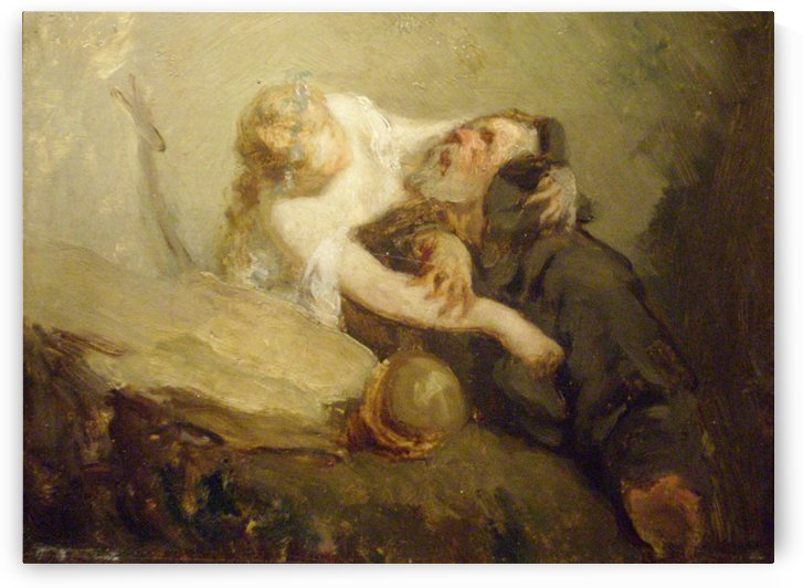 The Temptation of St. Anthony by Jean-Francois Millet