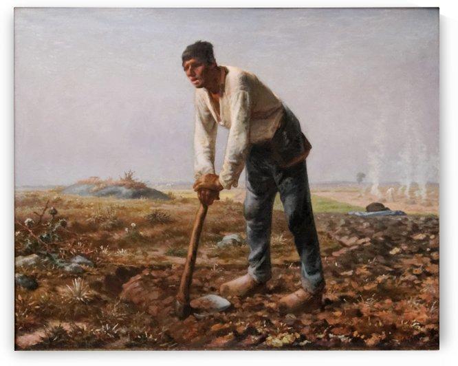 Homme a la houe by Jean-Francois Millet