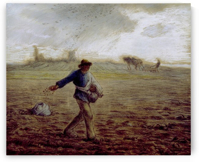 The Sower - Walters by Jean-Francois Millet