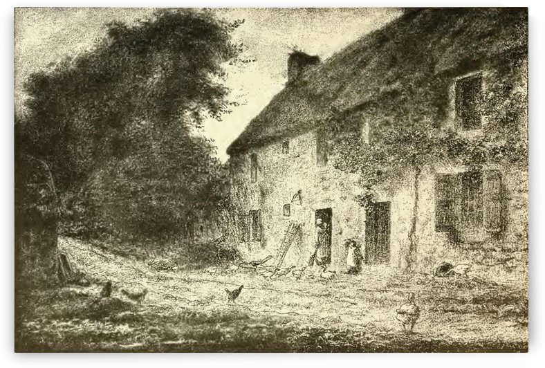 Birthplace house by Jean-Francois Millet