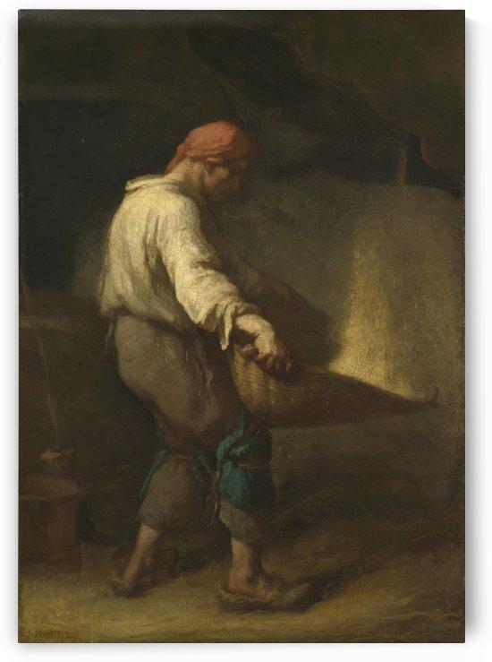 The winnower by Jean-Francois Millet