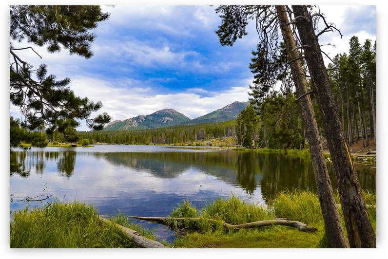 Sprague Lake by Scene Again Images: Photography by Cliff Davis