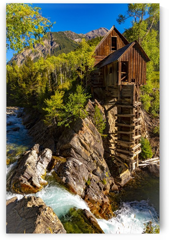 Crystal Mill by Scene Again Images: Photography by Cliff Davis