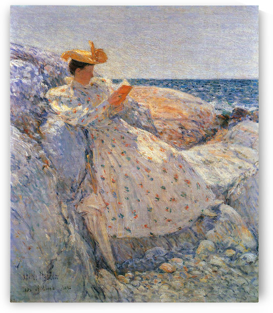 Summer sunlight by Hassam by Hassam