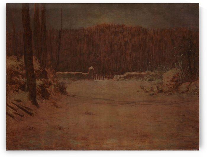 Solitude by Jean-Francois Millet