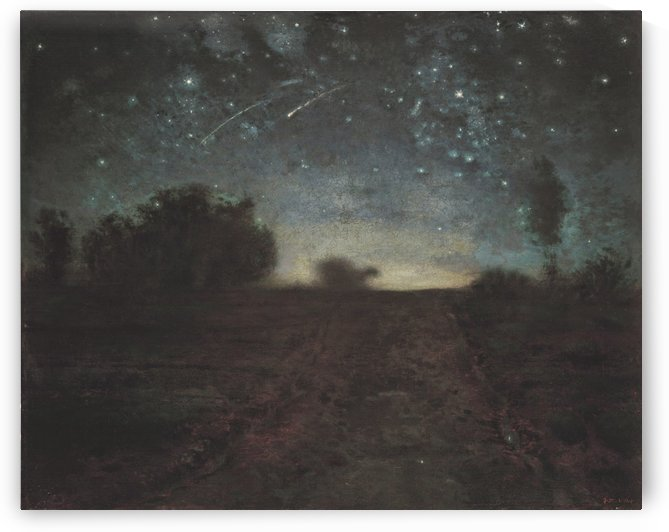 Starry Night by Jean-Francois Millet