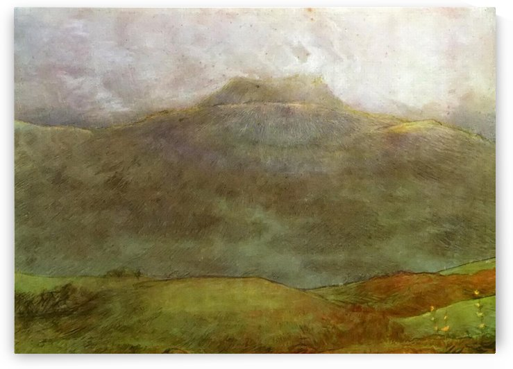 Hills by Jean-Francois Millet