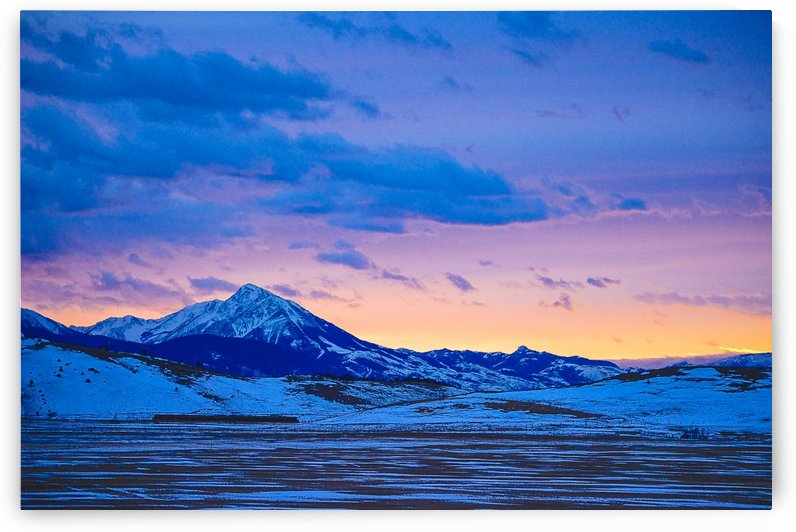 Emigrant Peak by Scene Again Images: Photography by Cliff Davis