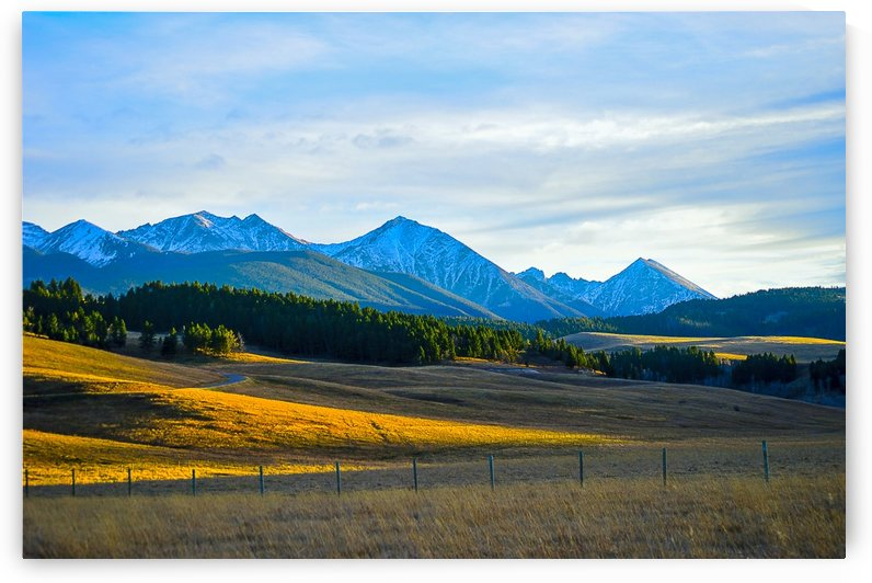 Spanish Peaks by Scene Again Images: Photography by Cliff Davis