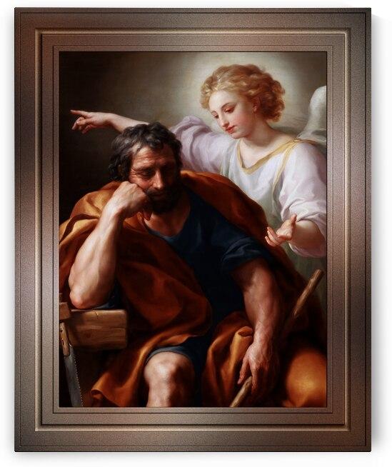 The Dream of St. Joseph by Anton Raphael Mengs by xzendor7