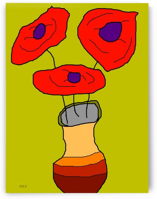 Poppies by Efrain Montanez