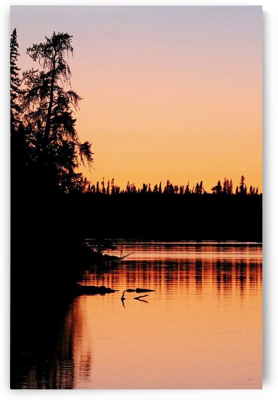 Orange Glow Sunset by Deb Oppermann