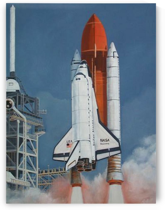 Space Shuttle by Teresa Trotter
