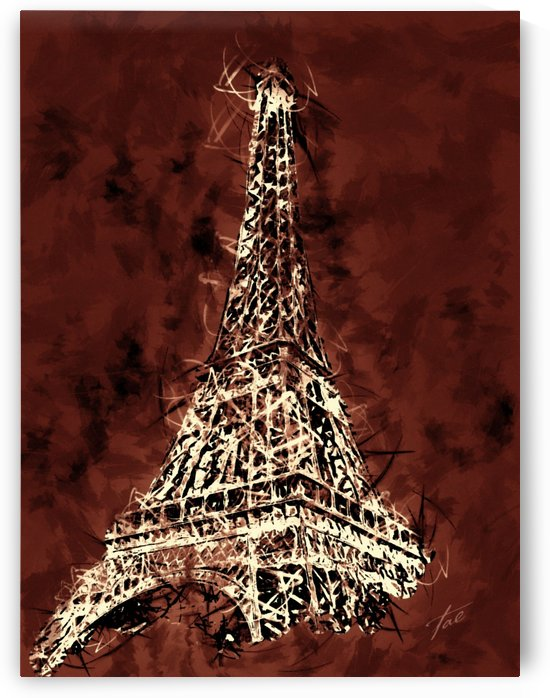 Eiffel Tower II by Tae
