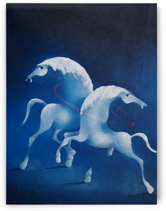 Blue Relationship by David Berkowitz Chicago