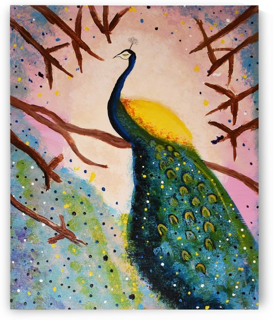 Peacock.Maggie Z by The Arc of the Capital Area
