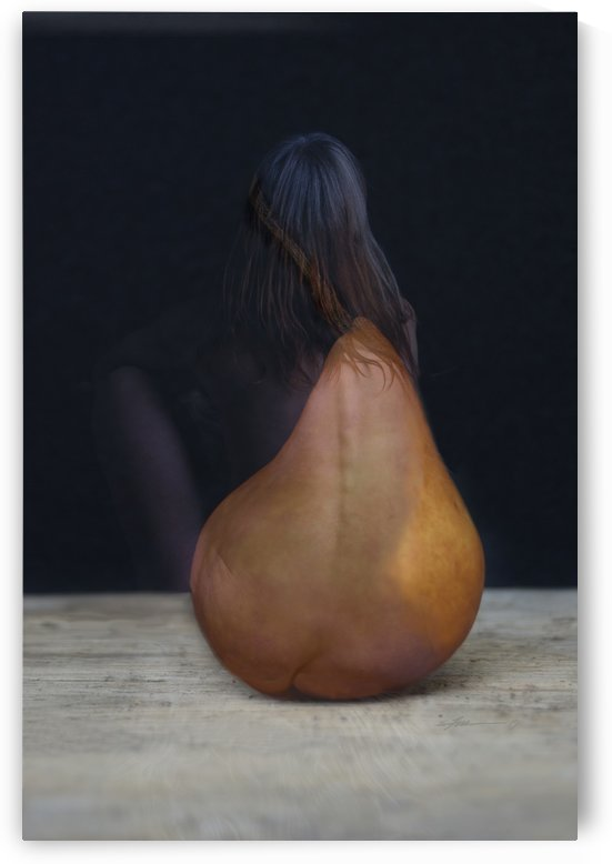 Naked Pear 2019 by Fred Moore