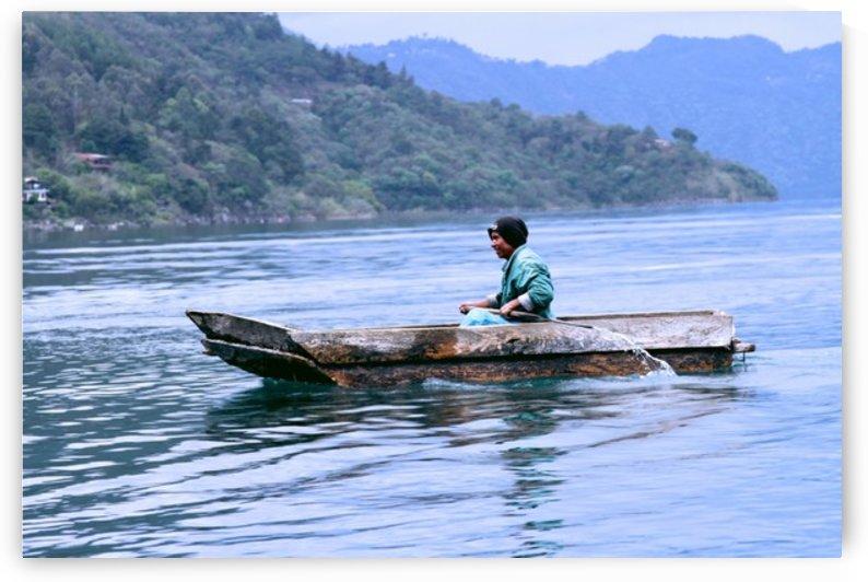 En Lago de Atitlan, Guatemala by AIReStudios