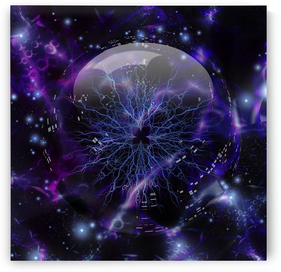 Plasma Ball by Bruce Rolff
