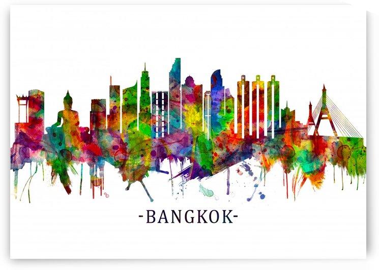 Bangkok Thailand Skyline by Towseef