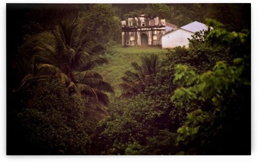 Las Ruinas en Semuc Champey, Lanquin, Guatemala by AIReStudios