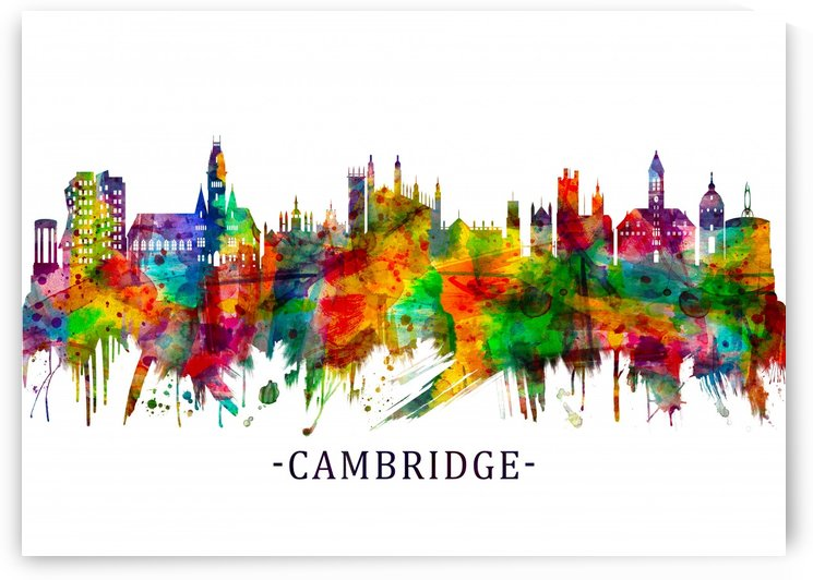Cambridge England Skyline by Towseef