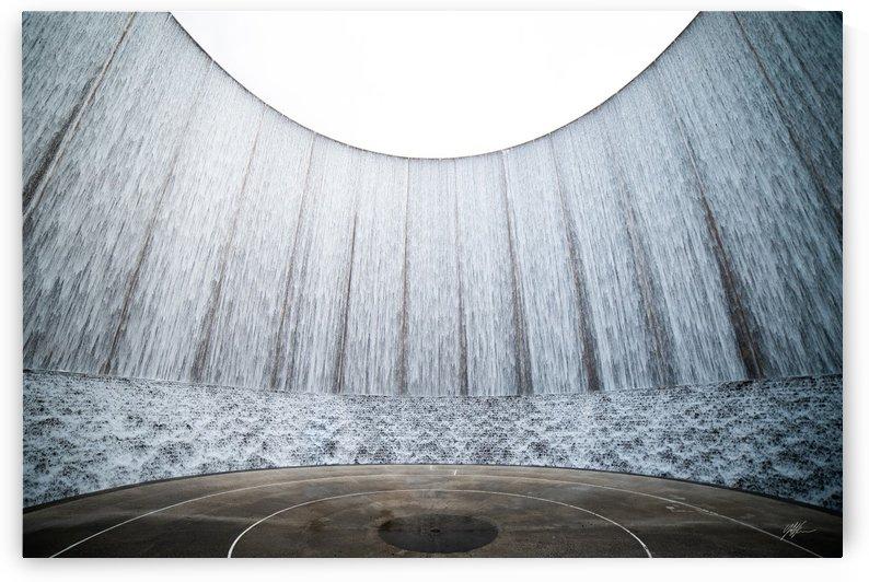 Gerald D Hines Waterfall8 by Nancy Calvert