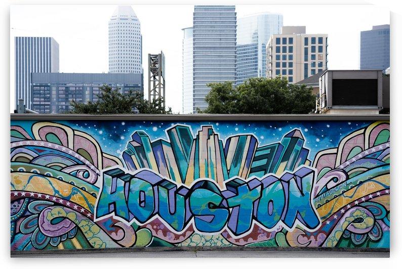 Houston Graffiti 9 by Nancy Calvert