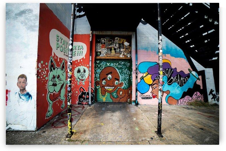 Houston Graffiti 10 by Nancy Calvert