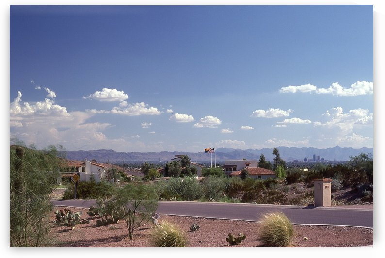 Phoenix Arizona 1970s Photograph by Katherine Lindsey Photography