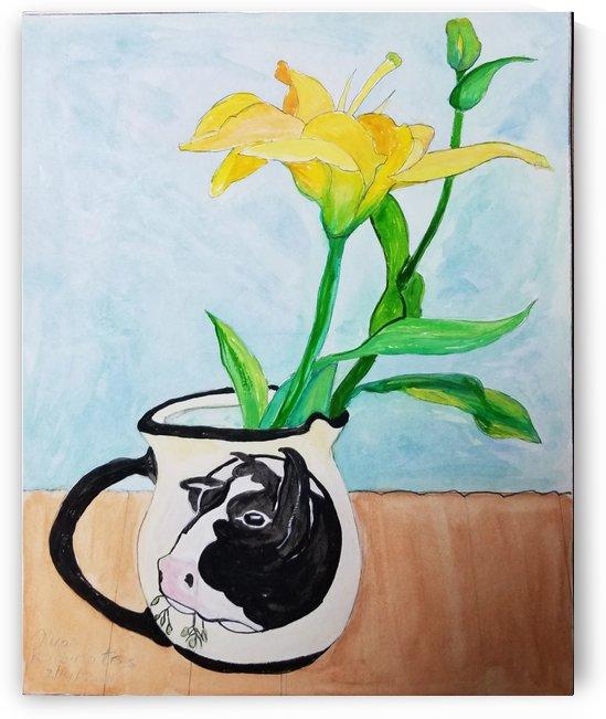 Vermont Milk Jar by Nicos Karousatos