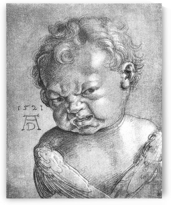 Weeping Angel boy by Albrecht Durer
